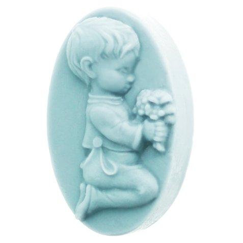 Molde niño rezando