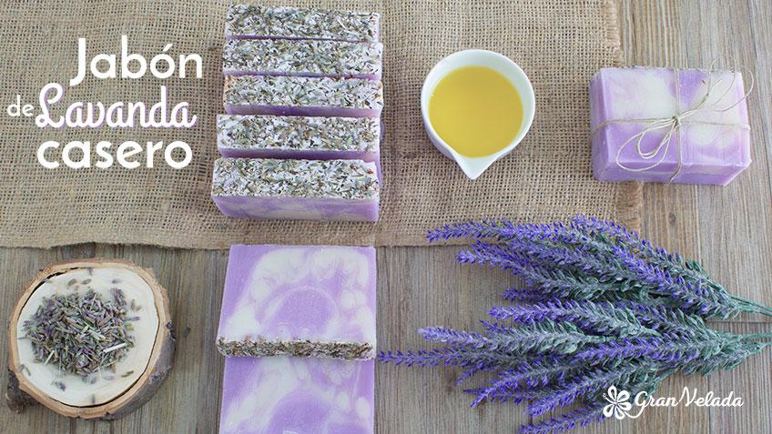Aprende como hacer jabon de lavanda casero con este tutorial, con vídeos y materiales necesarios