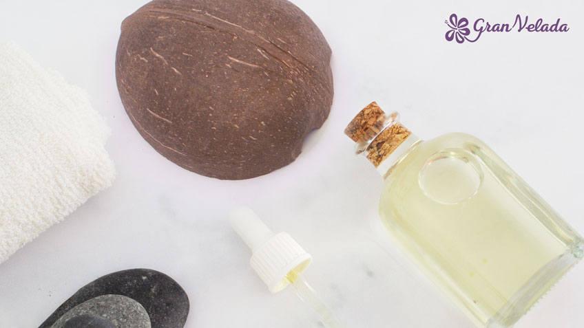 Aceite de coco para hacer jabon