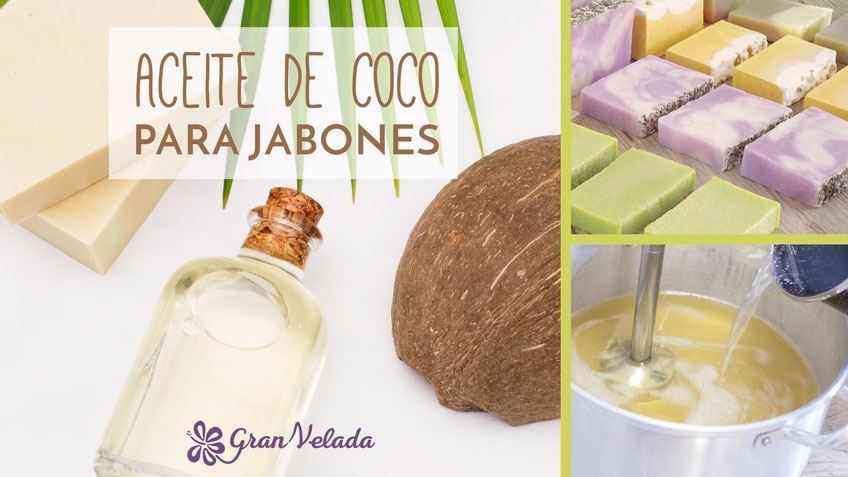 Aceite de coco para jabones