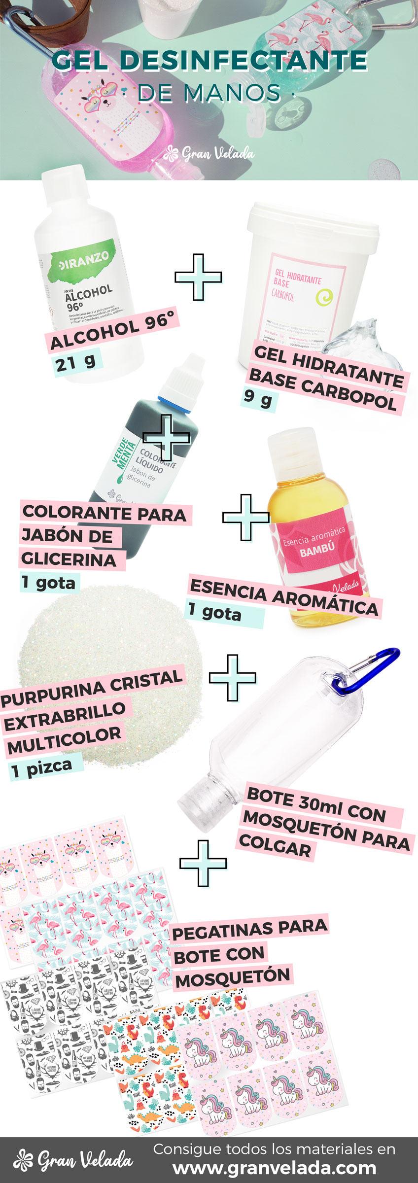 Como hacer gel desinfectante
