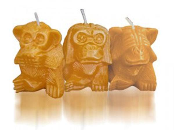Velas de los Tres Monos.