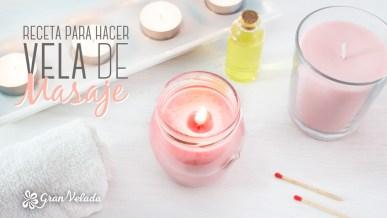 Tutorial para hacer Receta para hacer vela de masaje en casa con aroma muy sensual con vídeo