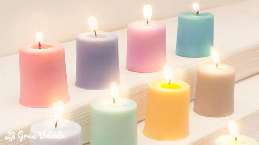 El color de las velas y su significado