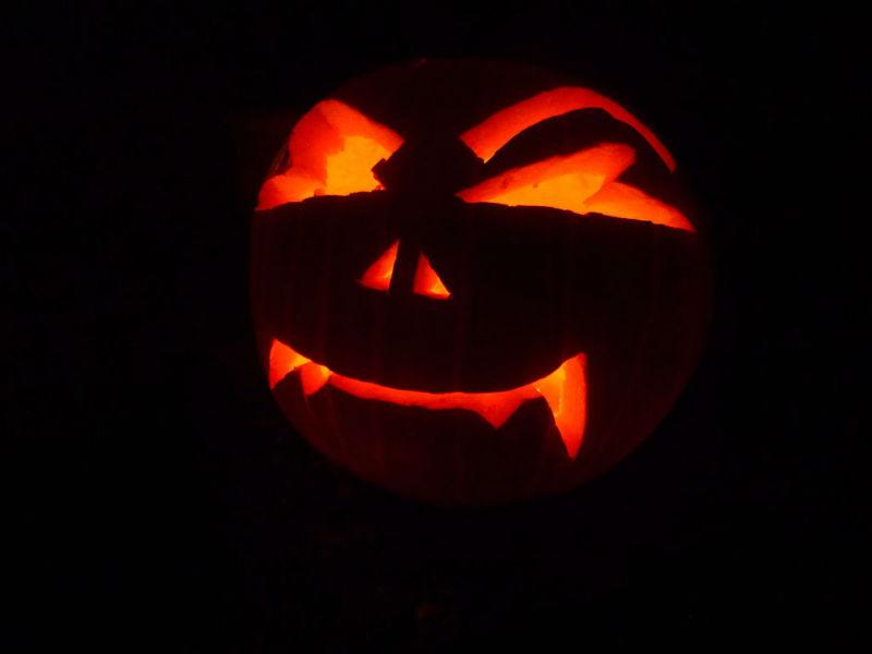 Hacer manualidades Halloween calabaza