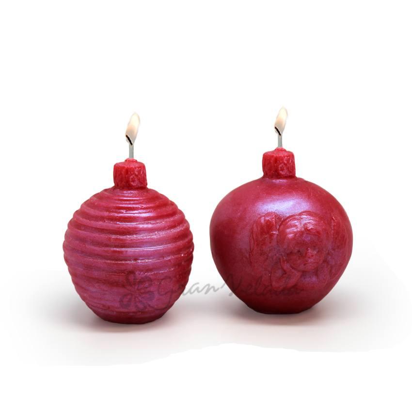 Hacer Velas de Bolas de Navidad