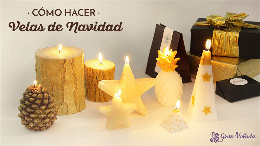Como hacer velas de navidad aprende con nuestros tutoriales for Como hacer velas aromaticas en casa
