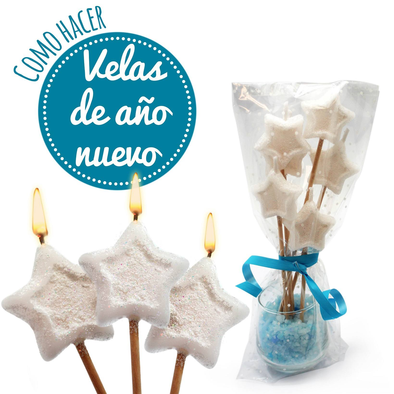 Como hacer velas decorativas para Año Nuevo