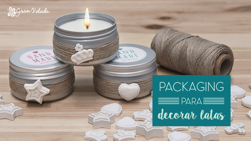 Packaging para decorar latas