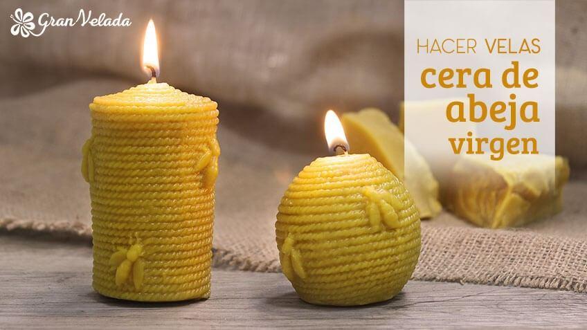 C mo hacer velas con cera de abeja virgen for Como hacer velas aromaticas en casa