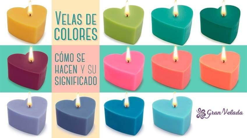 Aprende el significado del color de las velas