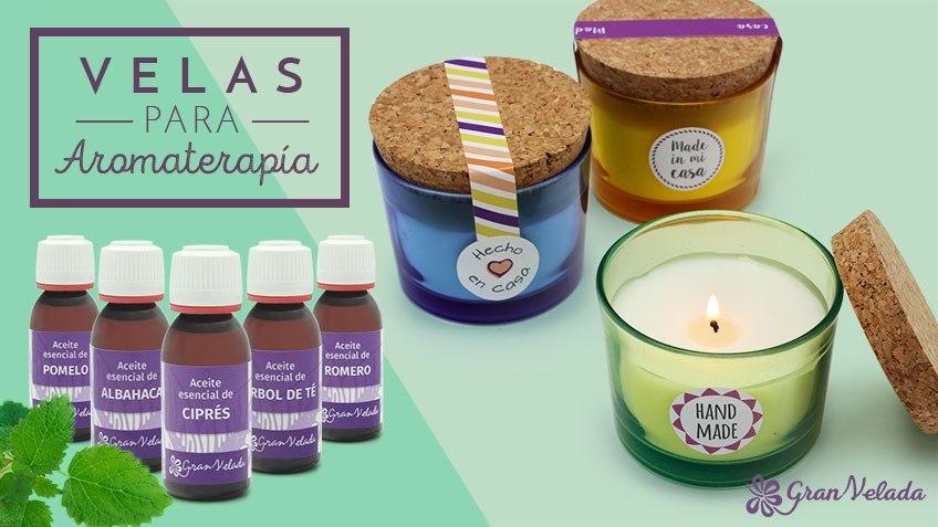Aromaterapia con velas