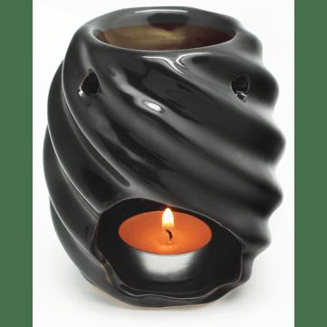 Esenciero cilíndrico negro