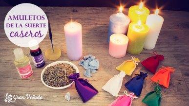 Tutorial para hacer amuletos de la suerte caseros para rituales.
