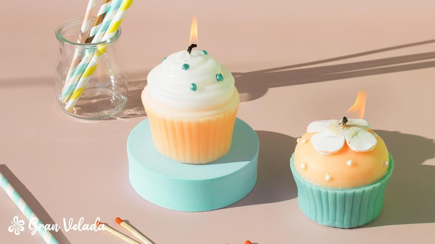Vela de cupcake