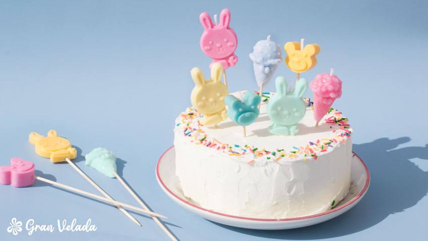 Velas para tartas infantiles