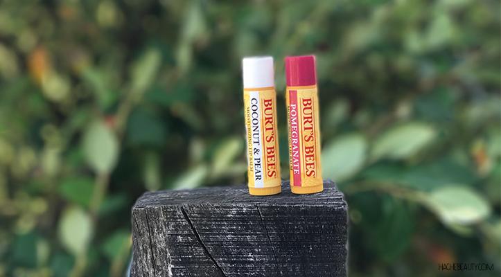 Reseña: Lip Balm Burt´s Bees – Coco & Pera y Granada