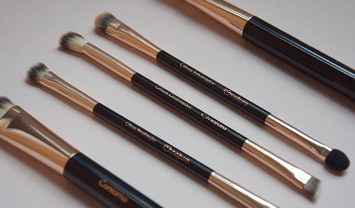 Reseña: Pinceles para maquillaje Natura UNA