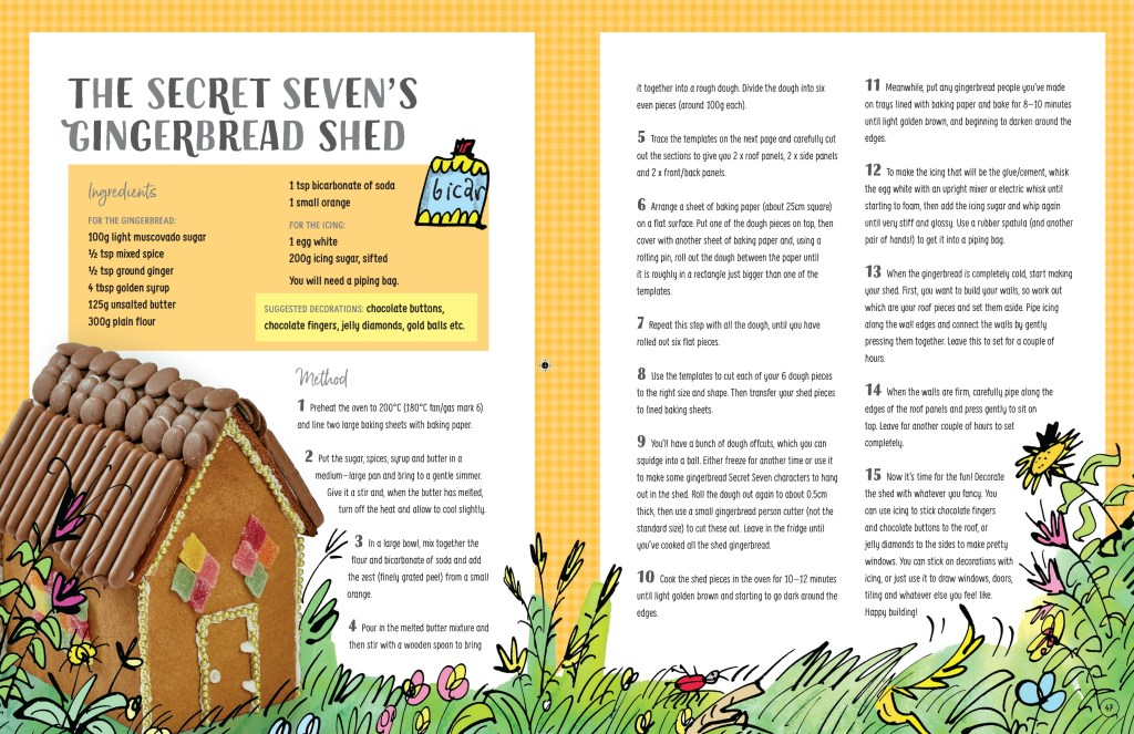 The Secret Seven's Gingerbread Shed