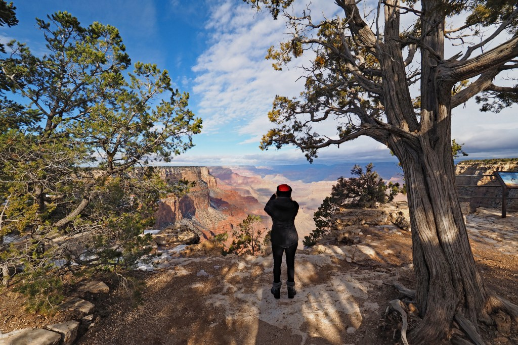View from the South Rim Trail in Grand Canyon National Park