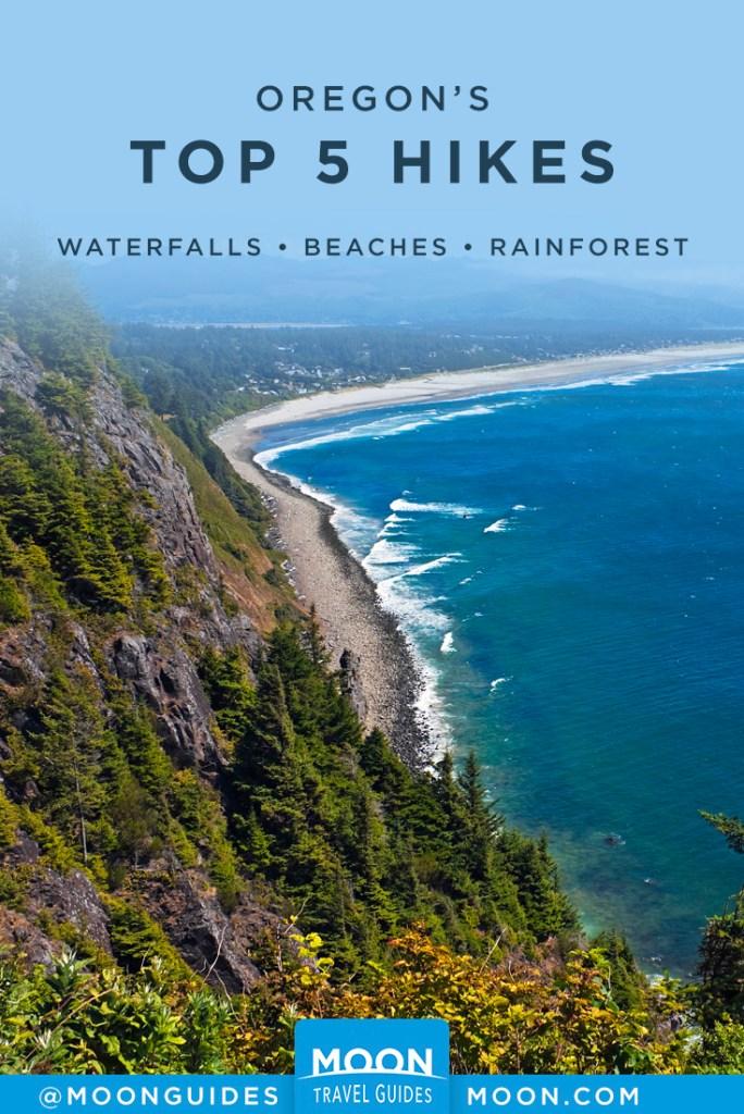 Oregon Hikes Pinterest Graphic