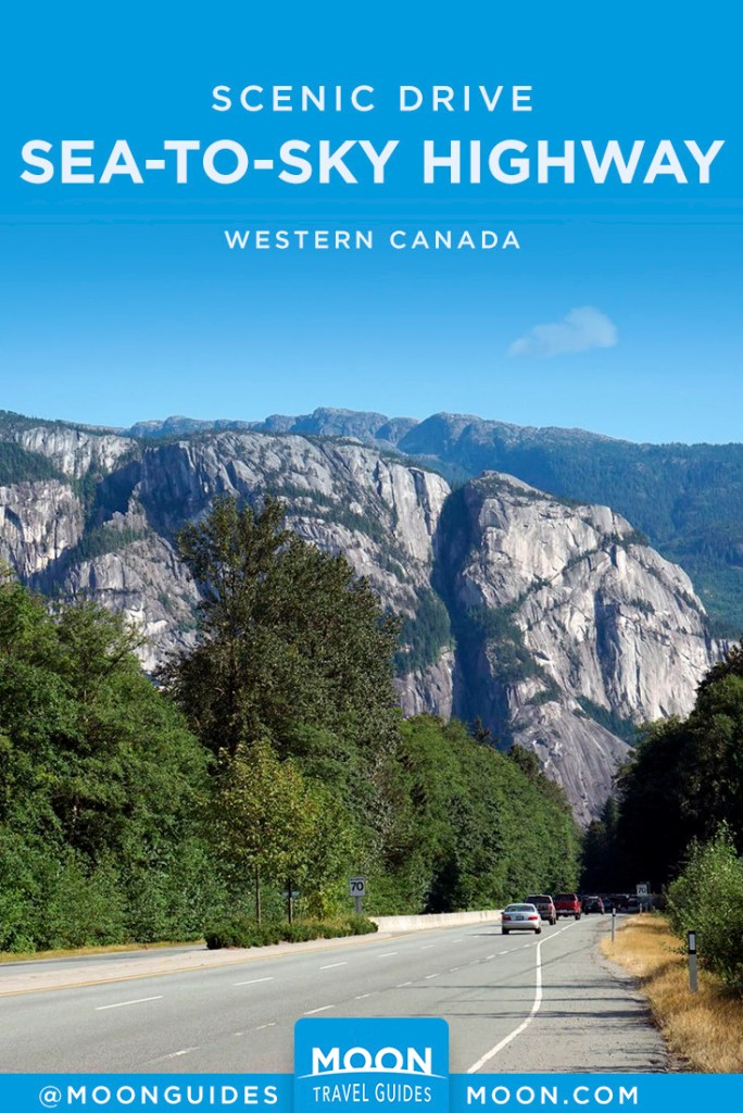 sea-to-sky highway pinterest graphic
