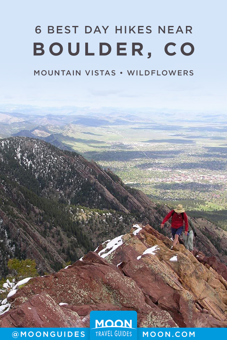 Boulder Day Hikes pinterest graphic