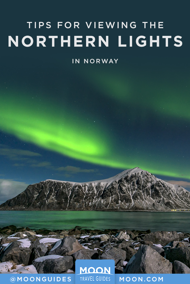 Norway Aurora pinterest graphic