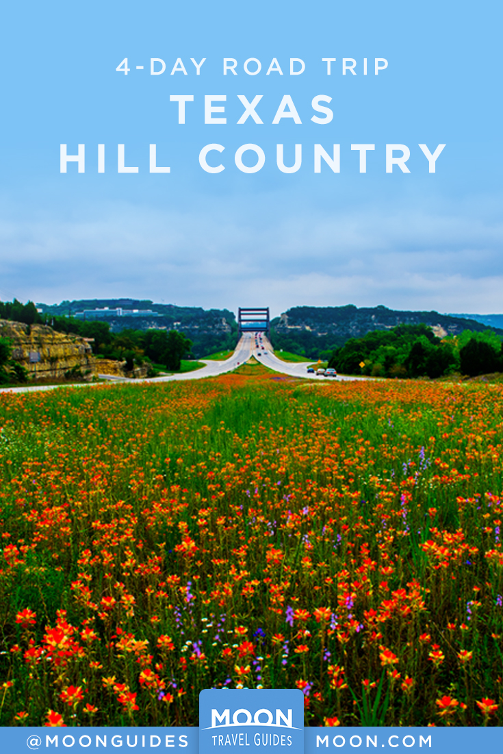Texas Hill Country RT pin description