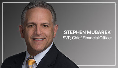 Stephen Mubarek - SVP, Chief Financial Officer