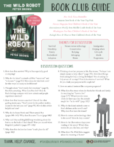 Wild Robot Book Club Guide link