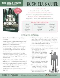 Wild Robot Book Club Guide link