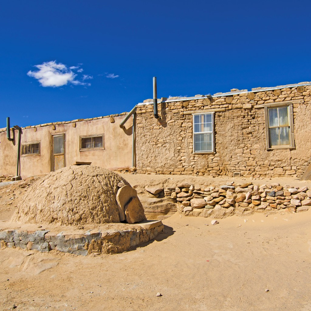 Building in Acoma Pueblo