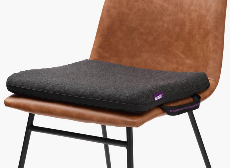seat cushion on a chair