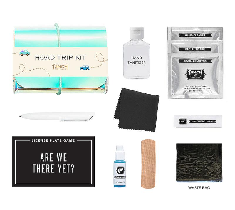 road trip toiletry kit