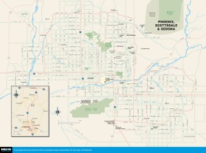 Travel Map Of Arizona.2 Week Best Of Arizona Road Trip Itinerary Moon Travel Guides