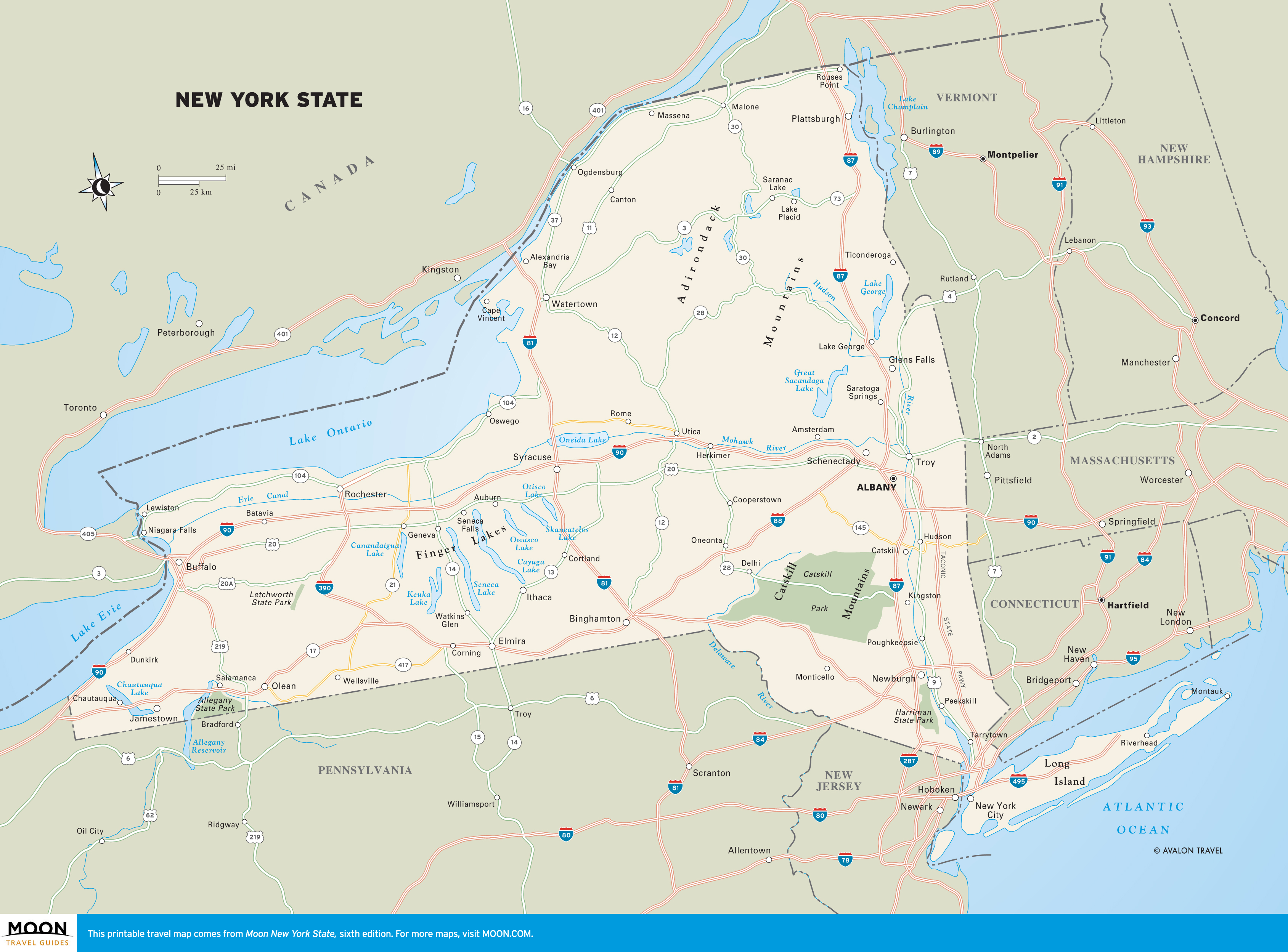 New York Maps | Moon Travel Guides
