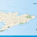 Travel map of Cuba (east)