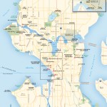 Travel map of Seattle, Washington