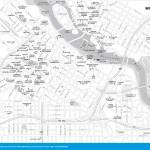 Travel map of Central Minneapolis, Minnesota