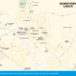 Travel map of Downtown Lihue, Hawaii