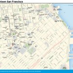Travel map of Downtown San Francisco