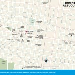 Travel map of Downtown Albuquerque, New Mexico