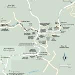 Travel map of Keystone