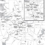 Travel map of Fort Worth, Texas