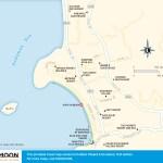 Travel map of Kata Yai Beach, Phuket, Thailand