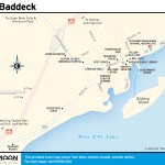 Travel map of Baddeck, Nova Scotia