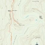 Trail map of West Rim Trail to Angels Landing in Utah