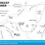 Map of Northeast Corner