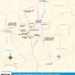 Travel map of Phuket Town, Thailand